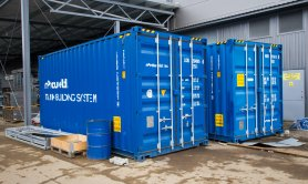 20ft high cube containers for tank building system