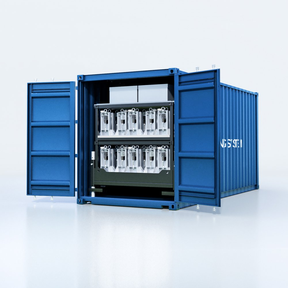 20ft High Cube container for Nordweld Tank Building System