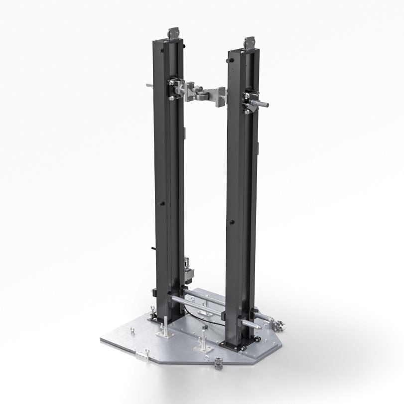 Nordweld Tack Weld Stand - Tack Weld configuration